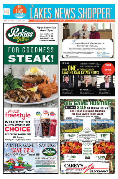 Lakes News Shopper - Jan 15, 2019