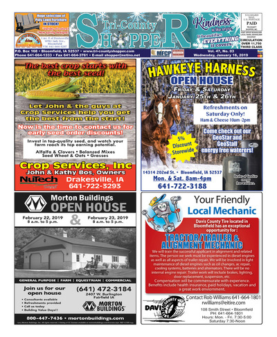 Tri-County Shopper - Jan 16, 2019