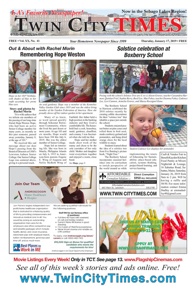 Twin City Times - Jan 17, 2019