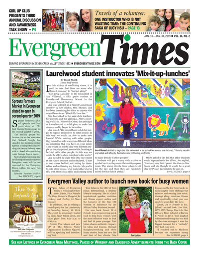 Evergreen Times - Jan 18, 2019