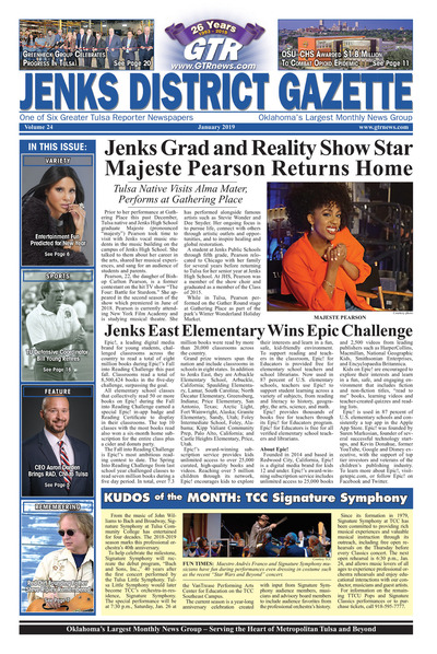 Jenks District Gazette - January 2019