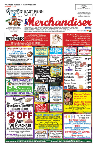 East Penn Valley Merchandiser - Jan 30, 2019