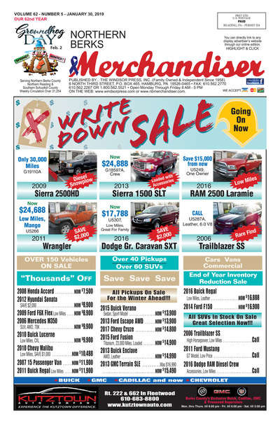 Northern Berks Merchandiser - Jan 30, 2019