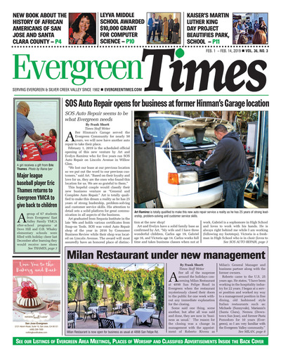 Evergreen Times - Feb 1, 2019