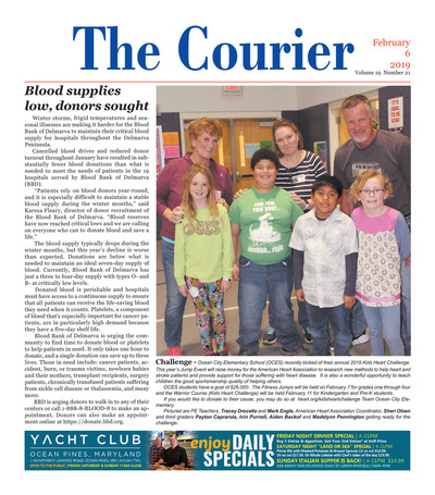 Delmarva Courier - Feb 6, 2019