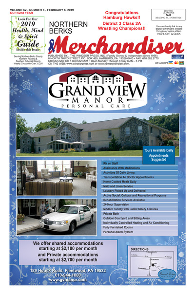 Northern Berks Merchandiser - Feb 6, 2019