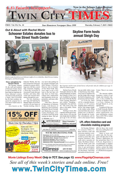 Twin City Times - Feb 7, 2019