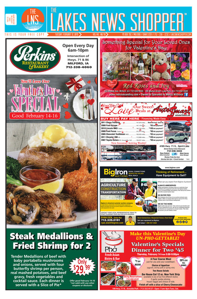 Lakes News Shopper - Feb 12, 2019