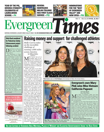Evergreen Times - Feb 15, 2019