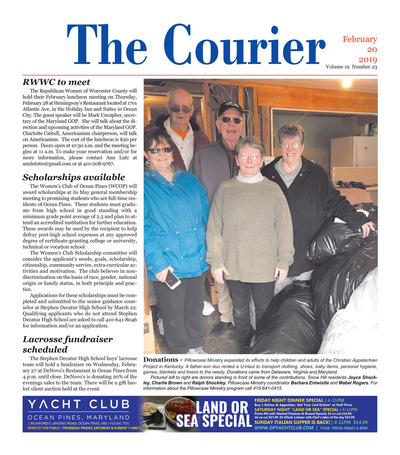 Delmarva Courier - Feb 20, 2019