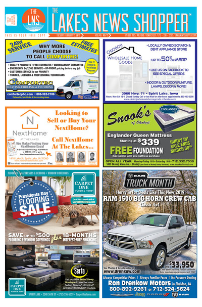 Lakes News Shopper - Feb 19, 2019