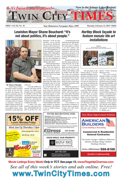 Twin City Times - Feb 21, 2019