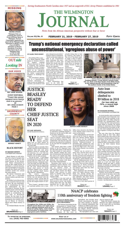 Wilmington Journal - Feb 21, 2019