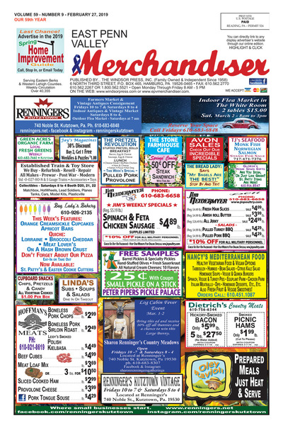 East Penn Valley Merchandiser - Feb 27, 2019