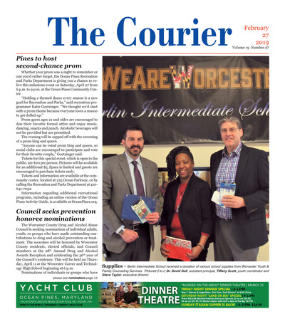 Delmarva Courier - Feb 27, 2019