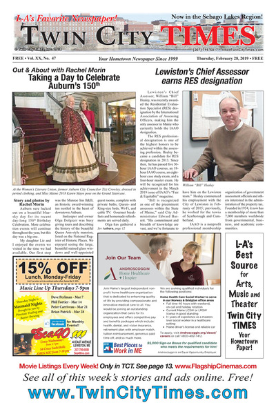 Twin City Times - Feb 28, 2019