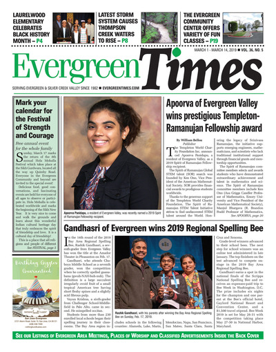 Evergreen Times - Mar 1, 2019
