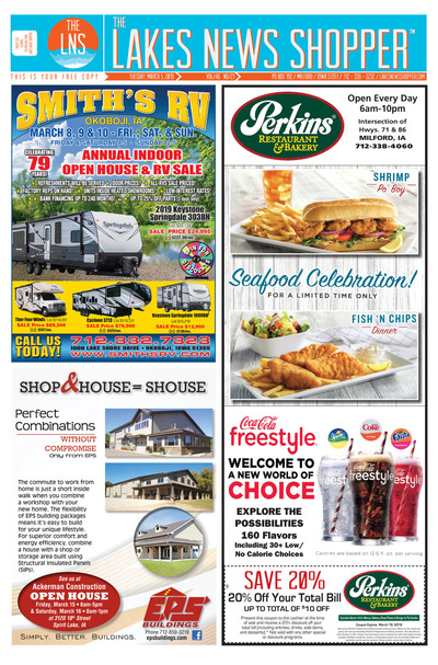 Lakes News Shopper - Mar 5, 2019