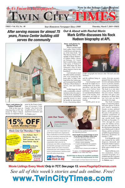 Twin City Times - Mar 7, 2019