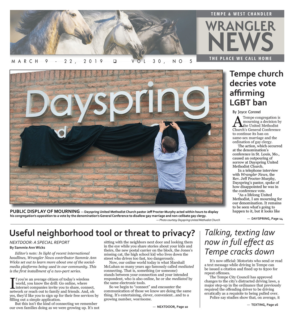 Print Edition - March 9, 2019 - Wrangler News