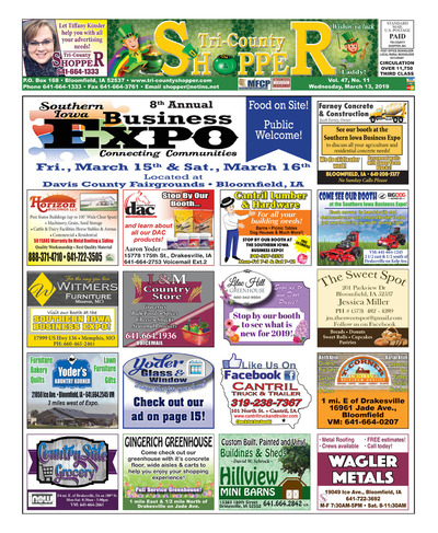 Tri-County Shopper - Mar 13, 2019
