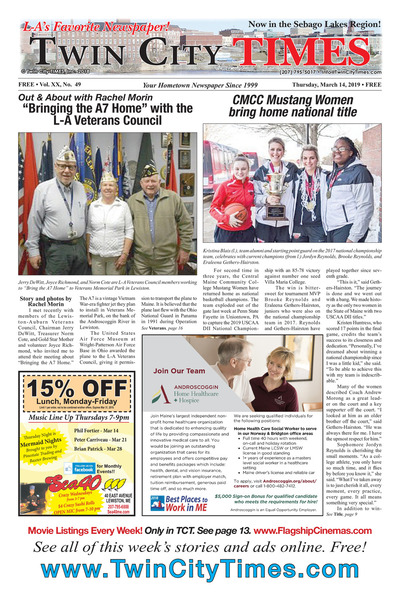 Twin City Times - Mar 14, 2019