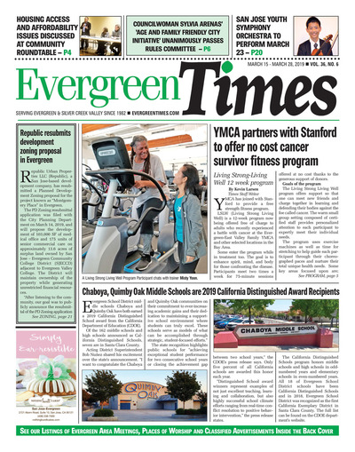 Evergreen Times - Mar 15, 2019