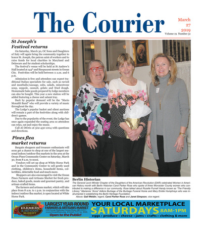 Delmarva Courier - Mar 27, 2019