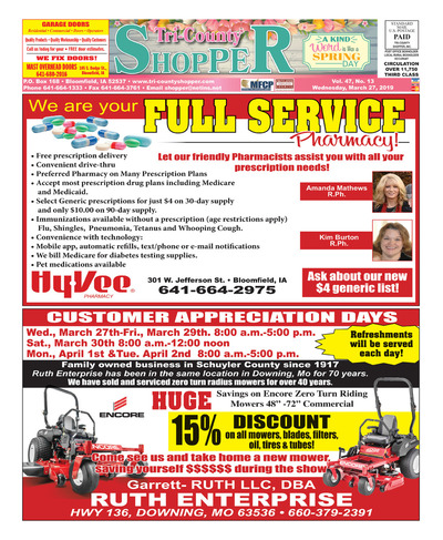 Tri-County Shopper - Mar 27, 2019