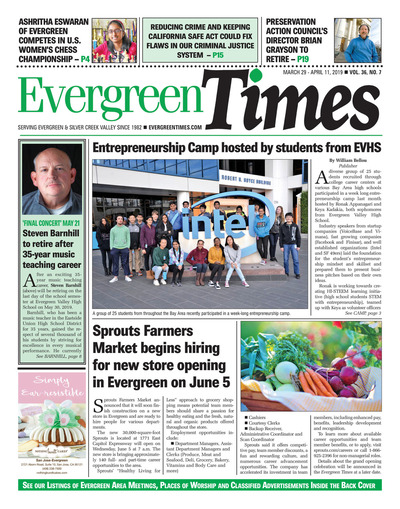 Evergreen Times - Mar 29, 2019