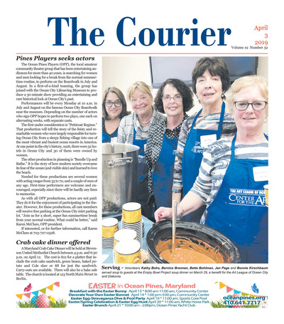 Delmarva Courier - Apr 3, 2019