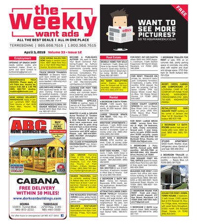 The Weekly - Apr 3, 2019