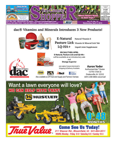 Tri-County Shopper - Apr 3, 2019