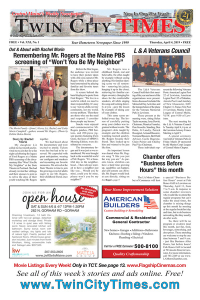 Twin City Times - Apr 4, 2019