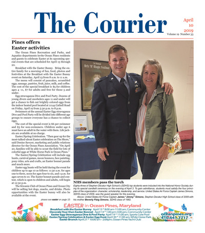 Delmarva Courier - Apr 10, 2019