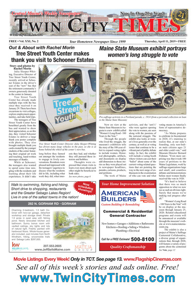 Twin City Times - Apr 11, 2019