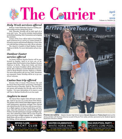 Delmarva Courier - Apr 17, 2019