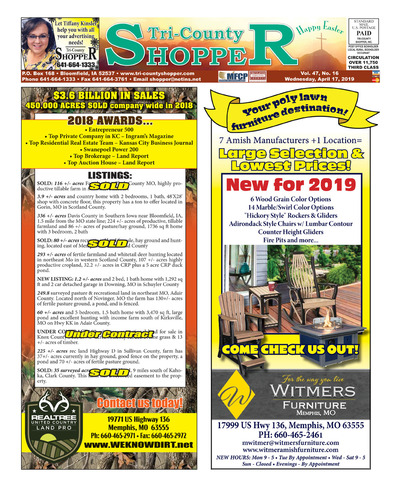 Tri-County Shopper - Apr 17, 2019