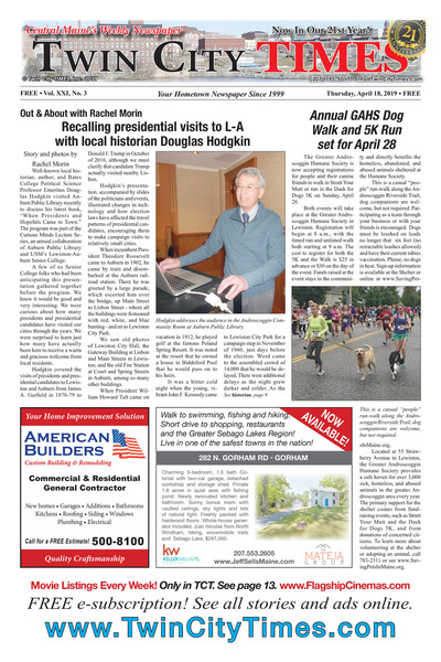 Twin City Times - Apr 18, 2019
