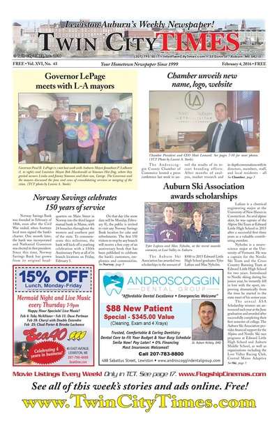 Twin City Times - Feb 4, 2016