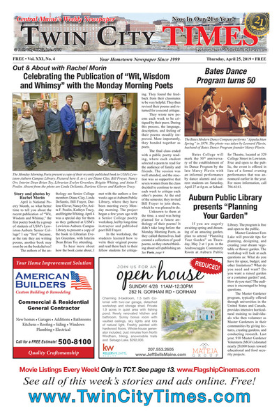 Twin City Times - Apr 25, 2019