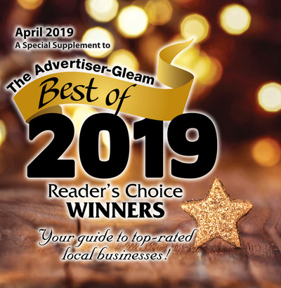 Times Daily - Special Sections - Advertiser Gleam Best of 2019