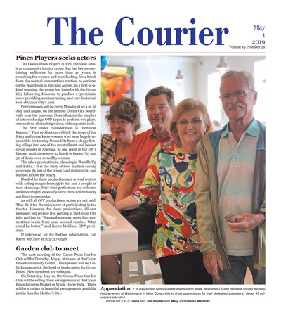 Delmarva Courier - May 1, 2019