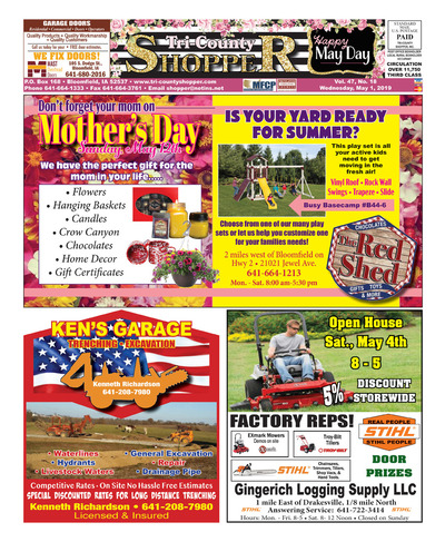 Tri-County Shopper - May 1, 2019