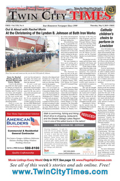 Twin City Times - May 9, 2019