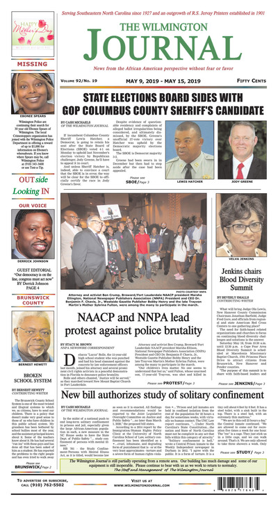 Wilmington Journal - May 9, 2019