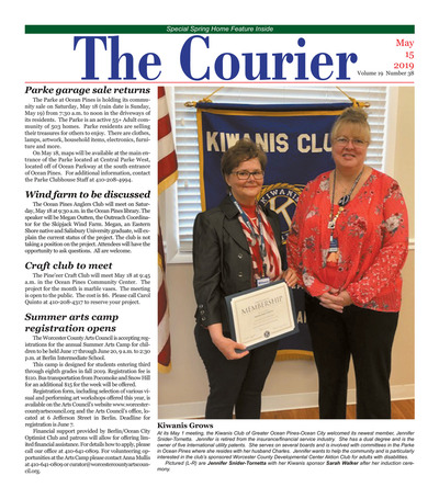 Delmarva Courier - May 15, 2019