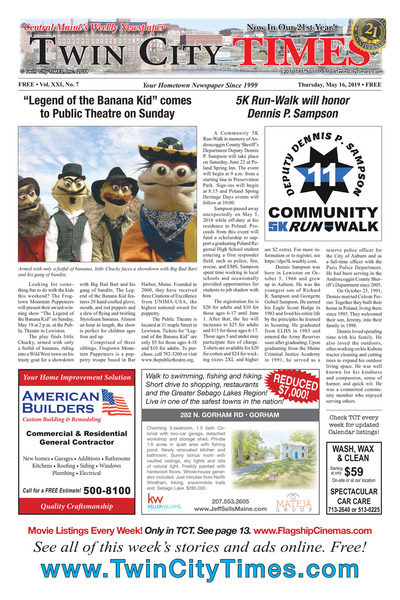 Twin City Times - May 16, 2019