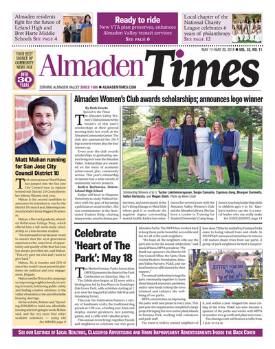 Almaden Times - May 17, 2019