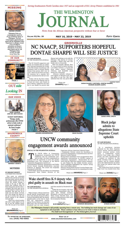 Wilmington Journal - May 16, 2019